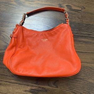 Like New Kate Spade Orange Leather Purse